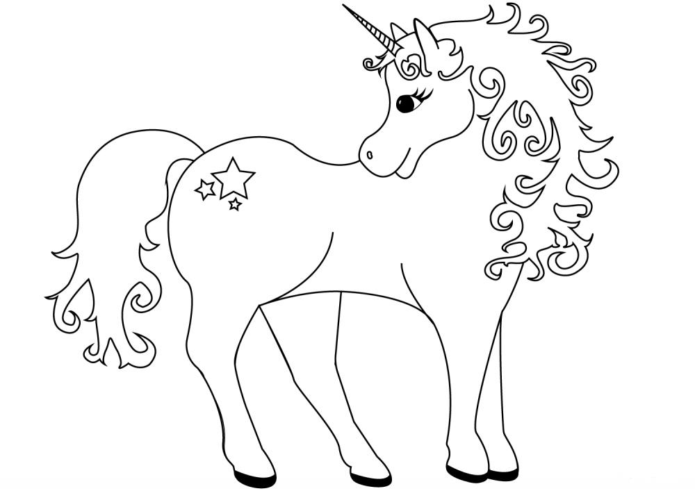 Единорог » Раскраски для детей распечатать бесплатно или ...