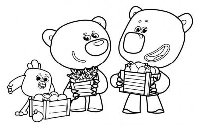 Ми-ми-мишки » Раскраски для детей распечатать бесплатно ...