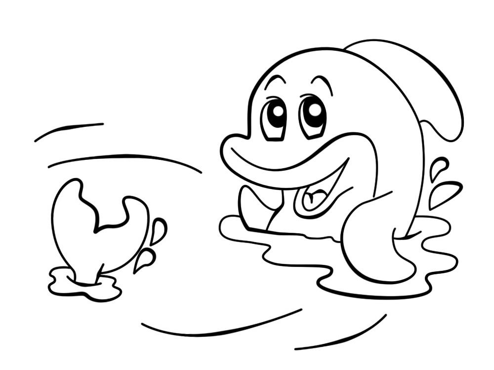 Акула » Раскраски для детей распечатать бесплатно или ...