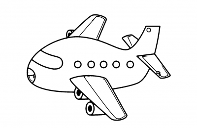 Самолет » Раскраски — для детей, девочек и мальчиков ...